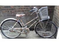 fishing camo bike