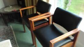Stylish , good quality retro armchairs
