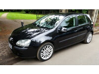 VW Golf 1.6 SE auto, full leather, parking snsr, cruise, heated seats