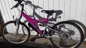 Girls Bicycle age range 7 - 14