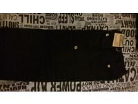 Boys Cargo Trousers. Never worn. Black & Khaki green