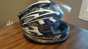 Bell RS1 Motorcycle Helmet with extra shield