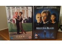 Two amazing movies on DVD - Brand new in packaging and unopened.