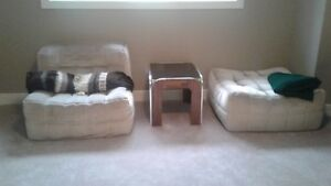 Seat with ottoman, launger chair for sale!