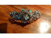NEW silver hair clip