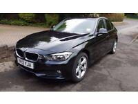 BMW 3 Series, 2012 (12) Black Saloon, Manual Diesel, 60,000 miles
