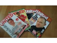 186 Issues of Manchester United Official Magazine