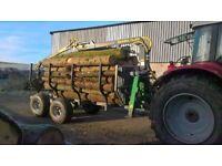 2014 Timber Forwarding Log Trailer