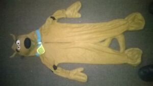 kids  costume scooby doo size sm