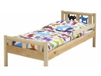 Rarely used Ikea kids bed and mattress for urgent sale