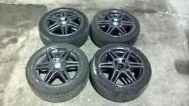 "Speedline Chrono Alloy Wheels 4x108 15"" Peugeot 106/Saxo Fitment"