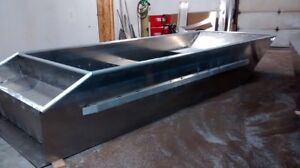 New 16ft x 6ft all welded aluminum boat