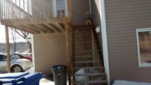 Two large bedrooms apartment in Edmundston