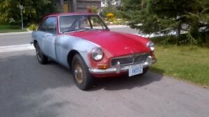 1967 MGB GT with overdrive