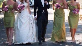 Bridesmaid dress | Green | Kelsey Rose | Size 12 | Knee length