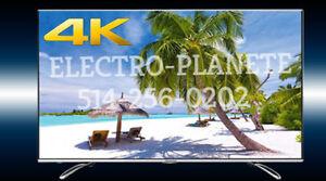* 4K Ultra HD 65 po 65UF2505 _________ $ 650, SAMSUNG DISPONIBLE