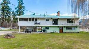 3290 1 Avenue, SW Salmon Arm - Perfect, Private, Useable Acreage