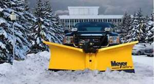 """Meyer Super V2 8.6"""" Plow - New in Crate"""