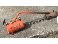 Sheen garden flame gun used but works great ideal for weed clearing and soil sterising