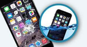 Water damaged phone fast repair (iPhone 4, 4s, 5, 5c, 5s, 6, 6P)
