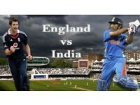 England v India - 2nd ODI @ Lords - Four Tickets Available