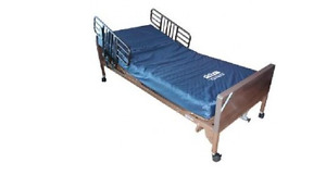 Brand New Hospital Bed with Gravity 9 Mattress