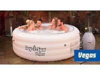 Lay-z spa vegas hot tub