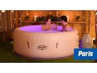 Hot tub rental Lay-z spa Paris Vegas Miami hire jacuzzi lazy spa