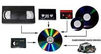 Grande Cache Convert your Old Camcorder Tapes into DVD & Digital