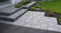 Interlocking landscaping call us for free estimate at4372267704