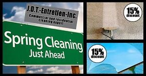 JDT Residential and Commercial Cleaning