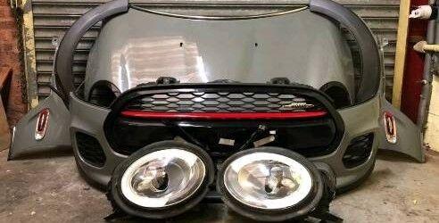 Mini Cooper S Jcw F56 Complete Front End Bonnet Bumper Rad Pack