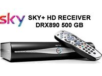 as new Sky Plus HD 500GB Sky+ HD 3D Anytime Box Dolby Digital Recordable with cable only £35