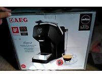lavazza mio coffee machine. brand new with free pods