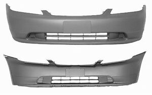 Honda Civic Front Bumper Cover with paint installation
