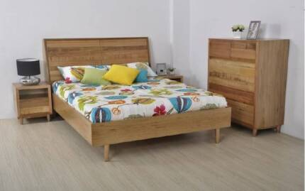 CONTEMPORARY ASH BEDROOM SUITE - WHOLESALE CLEARANCE!!
