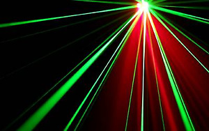 DJ equipment- Orion dual beam laser light-Red and Green-