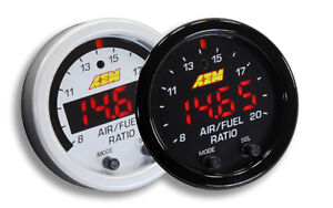 AEM Wideband AFR UEGO Sensor Gauge Snowmobile Car Truck 52mm