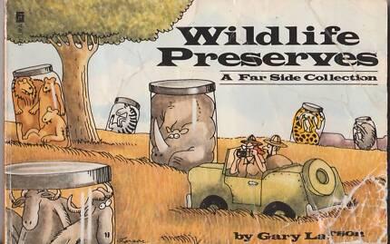 WILDLIFE PRESERVES: A FAR SIDE COLLECTION #10  Gary Larson 1990