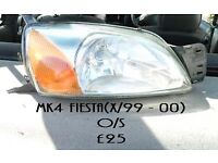 MK4 Ford Fiesta o/s Headlight