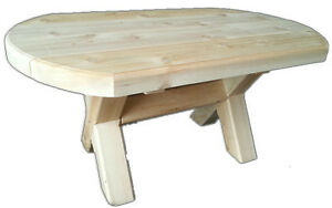 Solid wood heavy duty club table for patio, deck, cottage