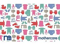 Mothercare gift voucher worth £200