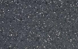 Minerva Nimbus Grey Solid surface worktop