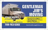 Gentleman Jim's Moving