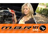 MBR JUMP START MY CAR - MANCHESTER BREAKDOWN RECOVERY - COPART COLLECTION SERVICE