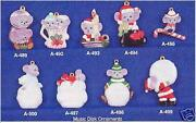 Christmas Ornament Ceramic Molds
