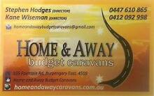 HOME AND AWAY BUDGET CARAVANS -quality vans from $3,000 - $20,000 Brisbane City Brisbane North West Preview