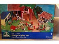 ELC farmyard play set