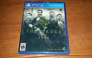THE ORDER 1886 - PS4 - PLAYSTATION - USED