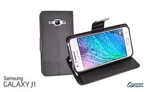 Samsung J1 / Ace Black Leather Case Cover Plympton West Torrens Area Preview